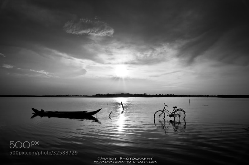Photograph Boat vs Bicycle :D by Mardy Photography on 500px