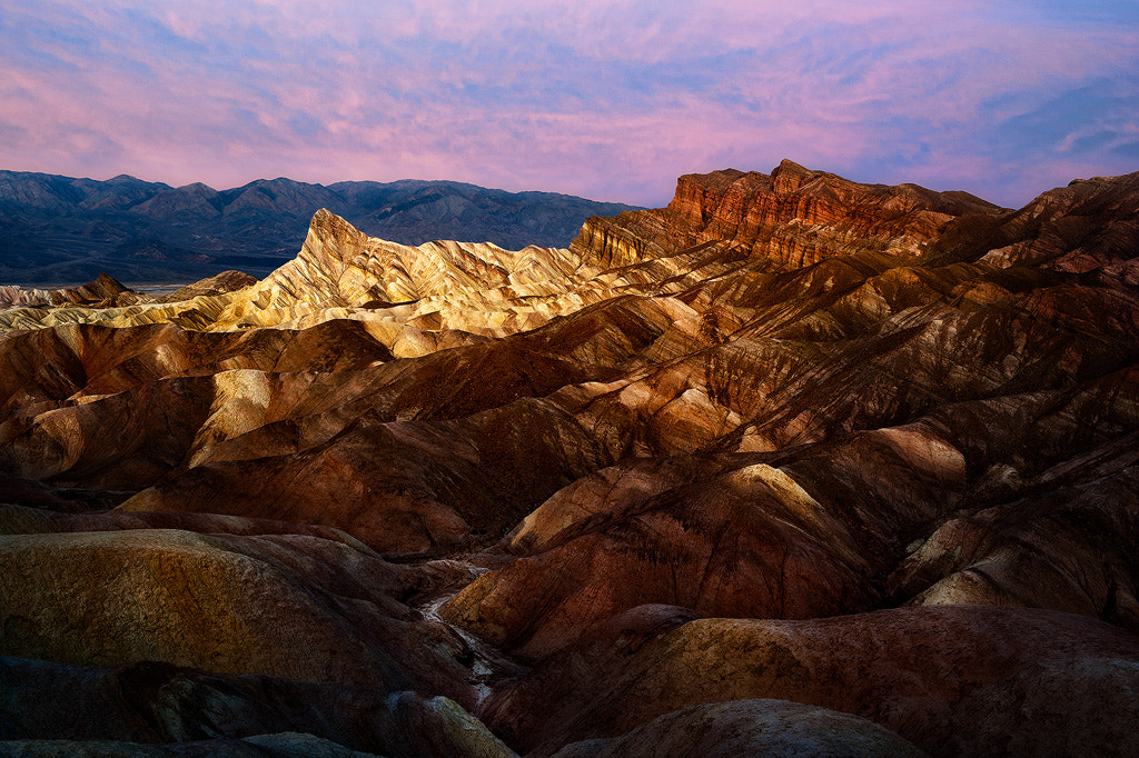 Photograph Before The Dawn At Zabriskie Point by Steve Perry on 500px