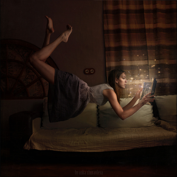 Photograph some books can fly you away by Anka Zhuravleva on 500px