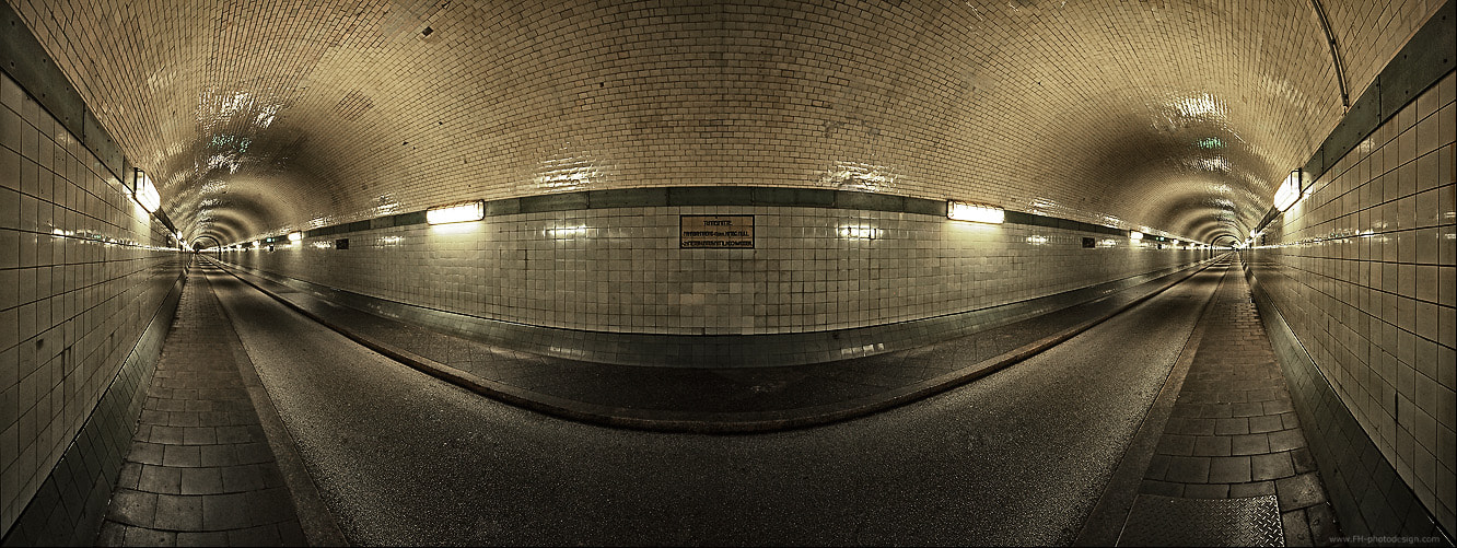 Photograph tunnel by Frank Herrmann on 500px
