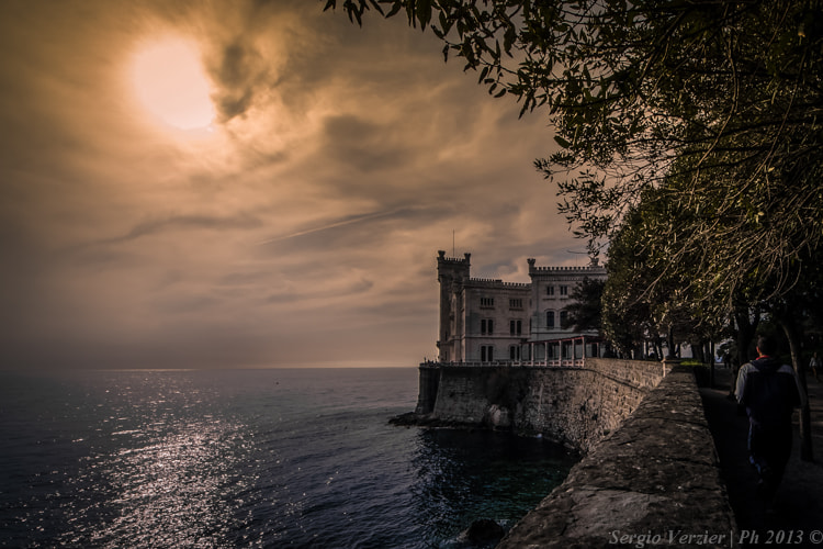 Photograph castle of Miramare by Sergio Verzier Photography on 500px