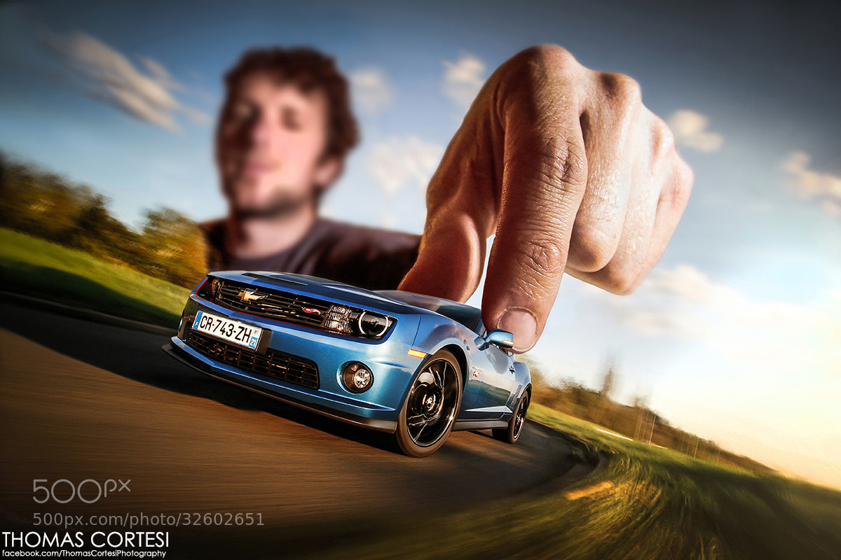 Photograph Chevrolet Camaro Hot Wheels Edition : Big Kids Only by Thomas Cortesi on 500px