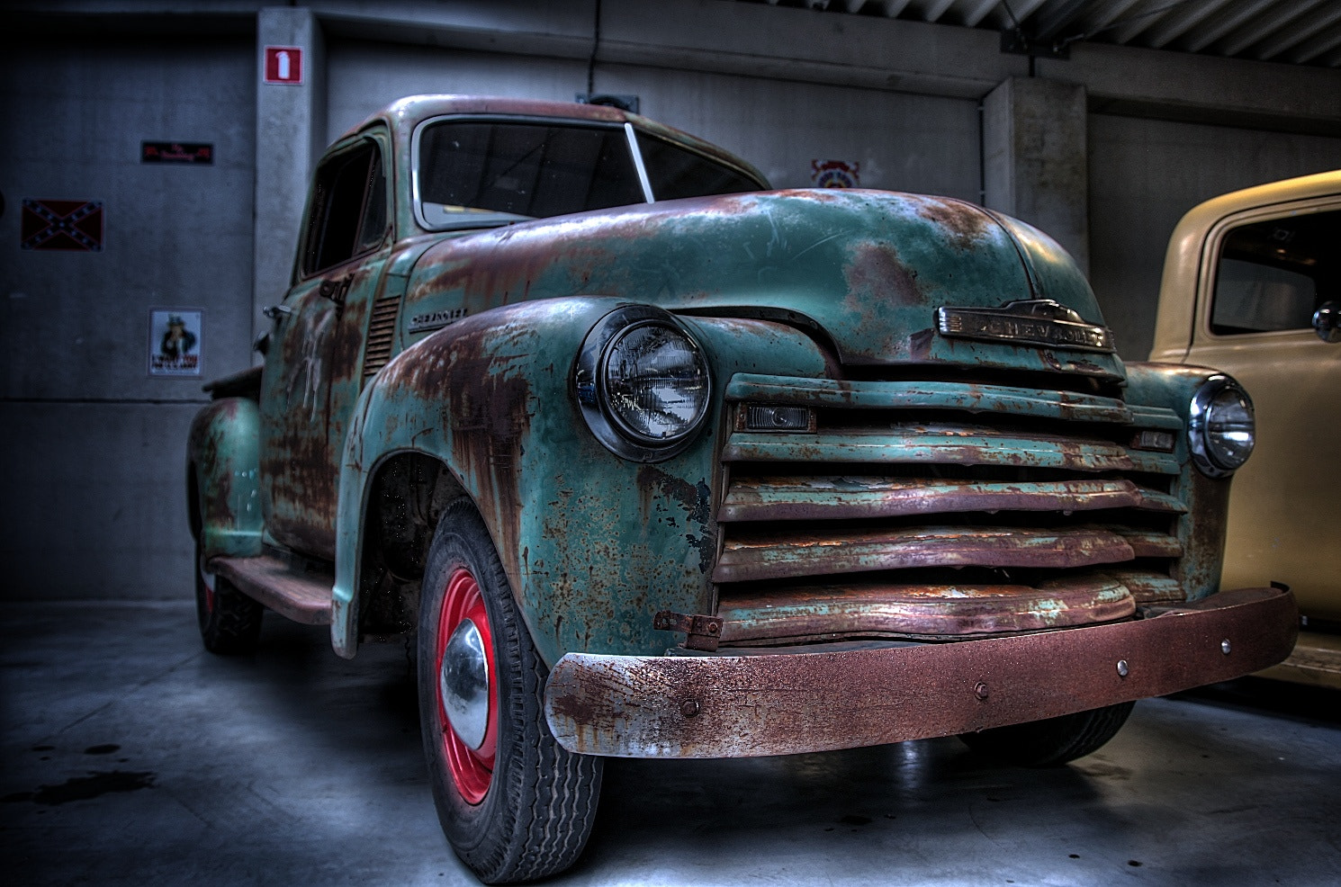 Photograph Old Chevy by Koen Domus on 500px
