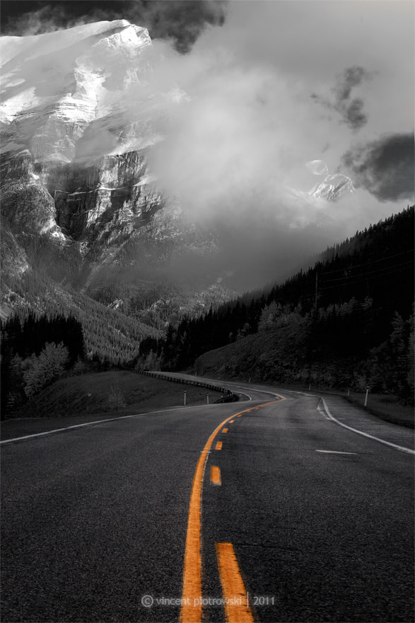 Photograph Highway 40 Tribute by Vincent Piotrowski on 500px