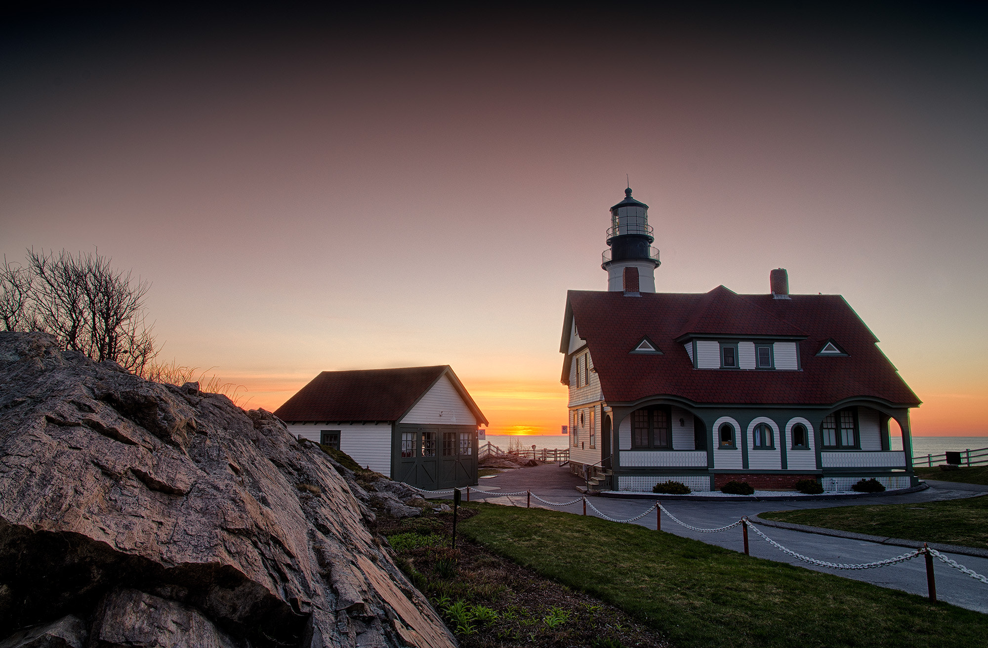 Photograph Portland Headlight, Cape Elizabeth, Maine by Chris Drew on 500px