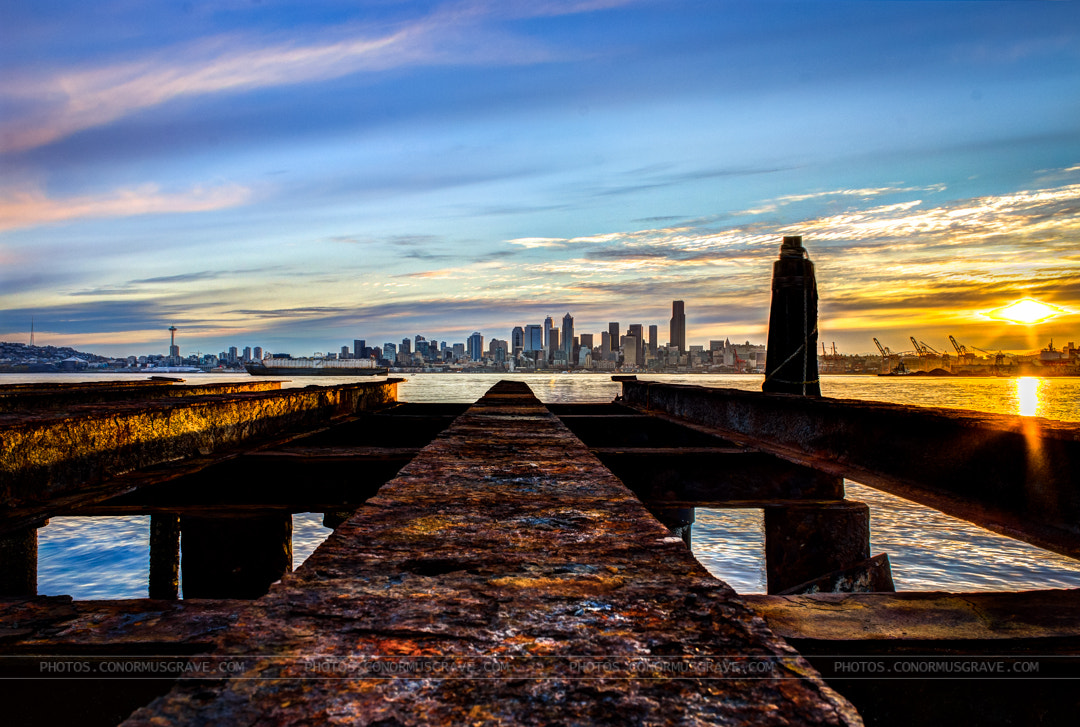 Photograph Rusty Seattle Sunrise by Conor Musgrave on 500px