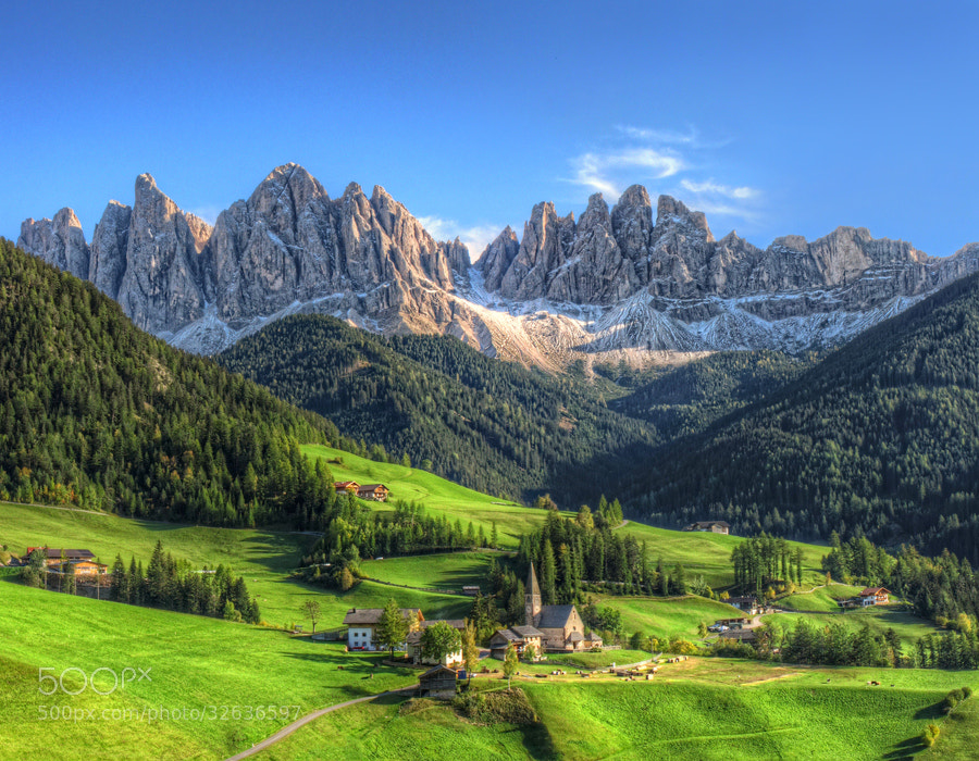Photograph Magic Dolomites by Frank Bramkamp on 500px