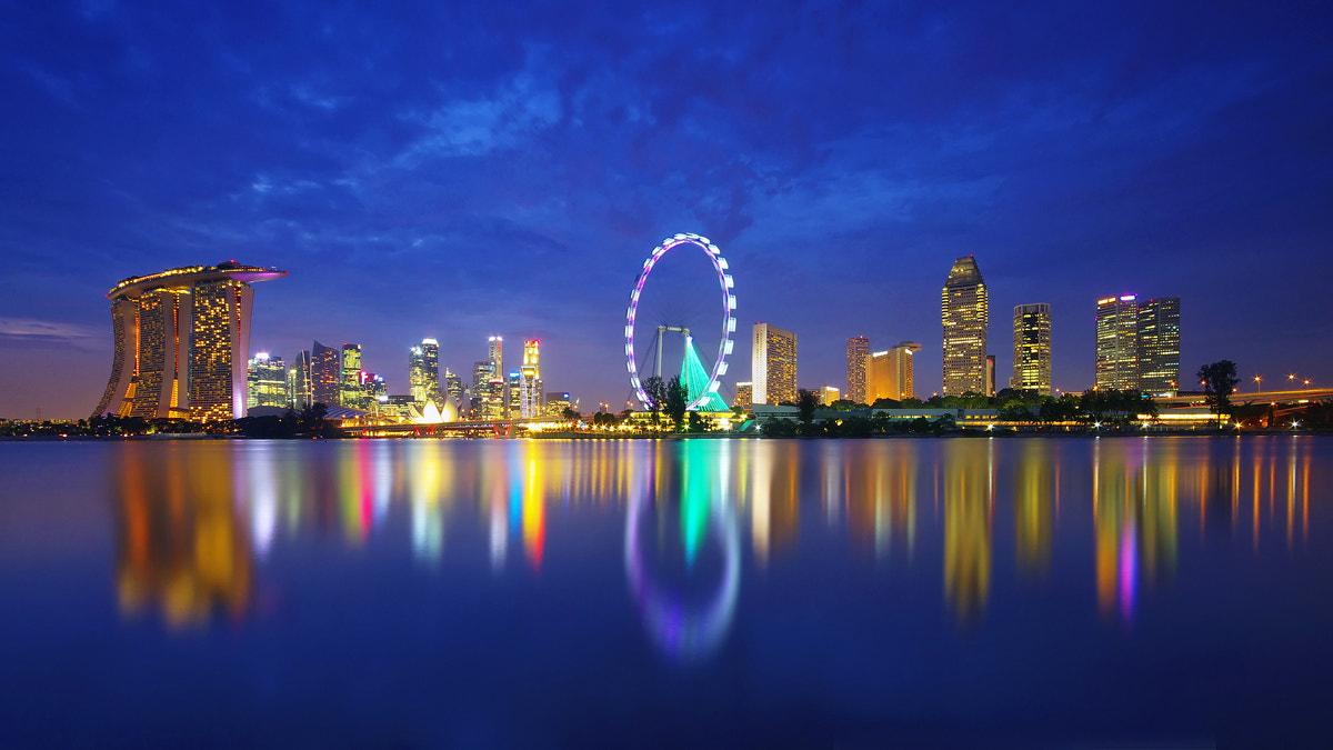 Photograph The Skyline II by WK Cheoh on 500px