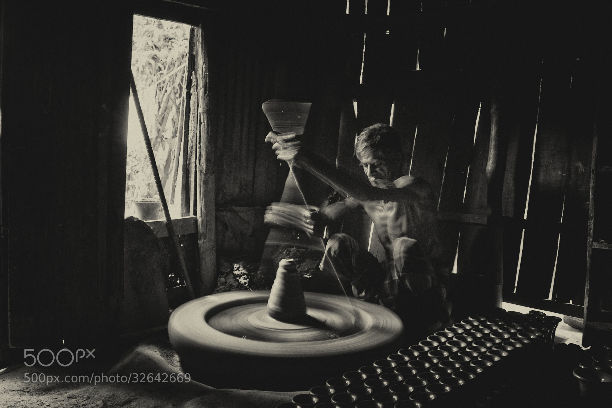 Photograph The clay magician... by Ananta Chowdhury on 500px
