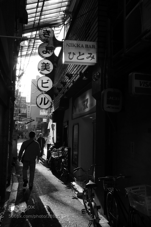 Photograph back alley by nakajima hiroshi on 500px