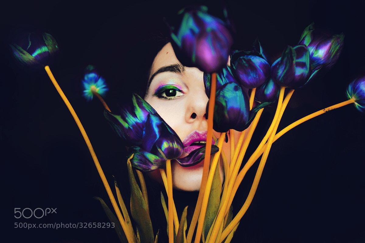 Photograph Tulips on her lips by Felicia Simion on 500px