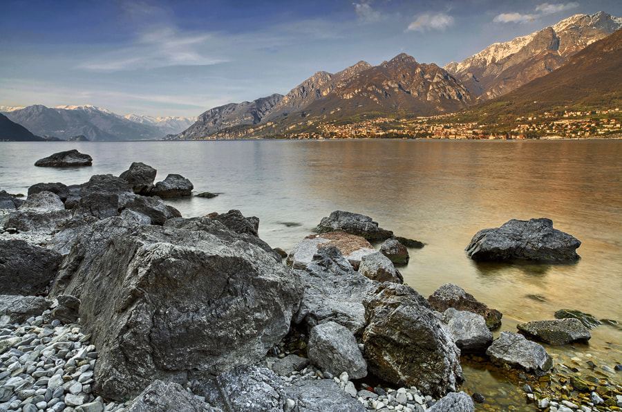 Photograph afternoon at Como lake by FeFoPhotography  on 500px