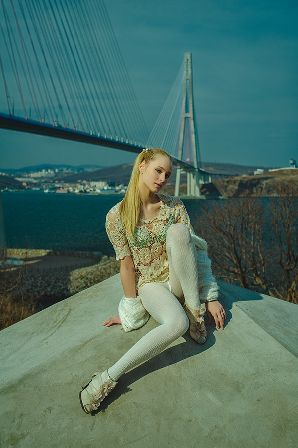 Photograph near the bridge by Oleg Petroff on 500px
