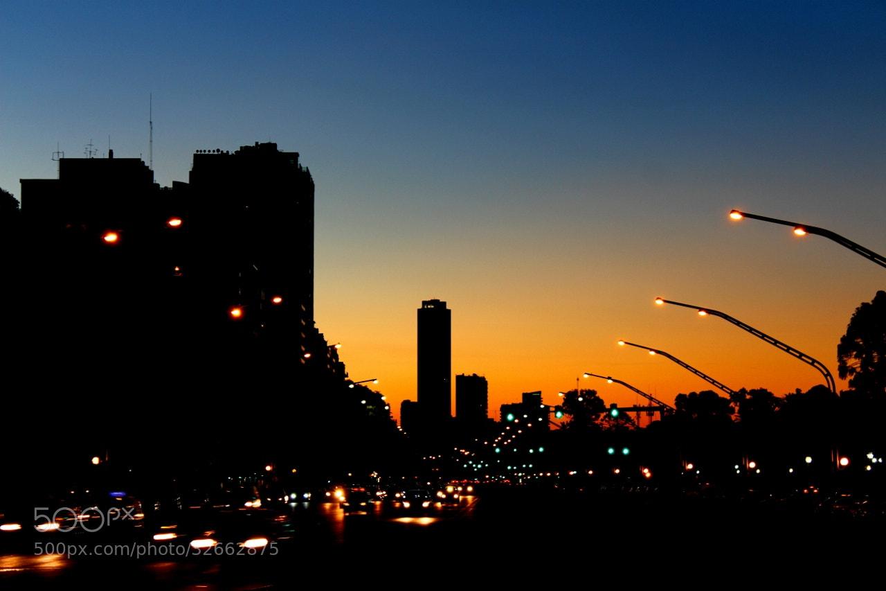 Photograph Av.del libertador by Hugo Desch on 500px