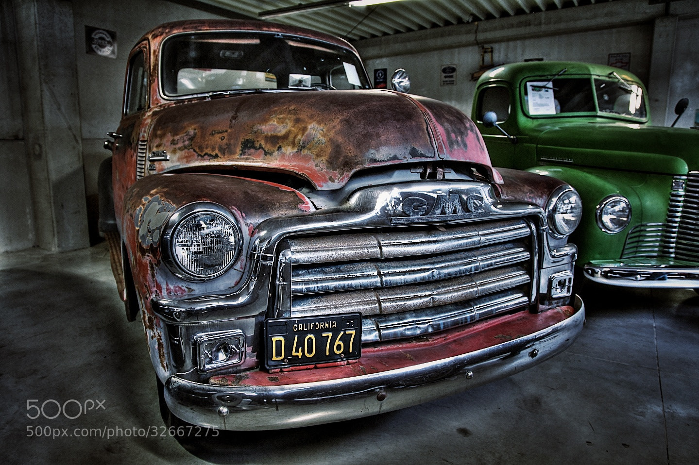 Photograph Old GMC by Koen Domus on 500px