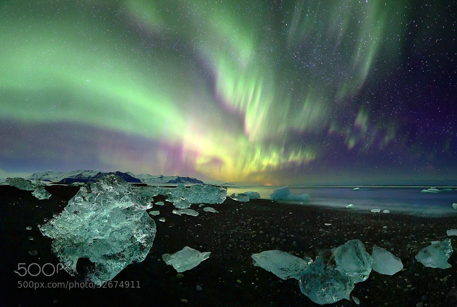 Photograph Jökulsárlónfjara by James Appleton on 500px