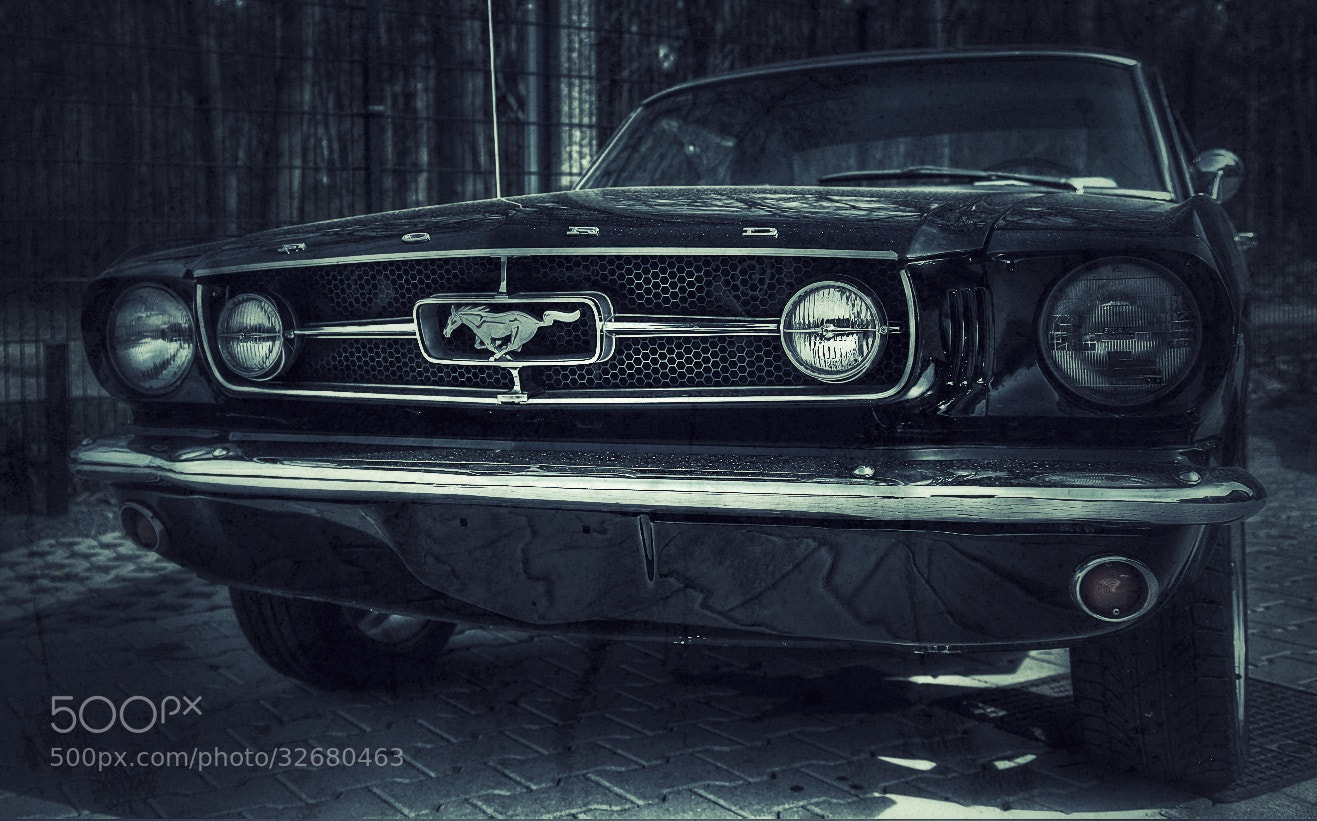 Photograph Mustang Grill by Koen Domus on 500px