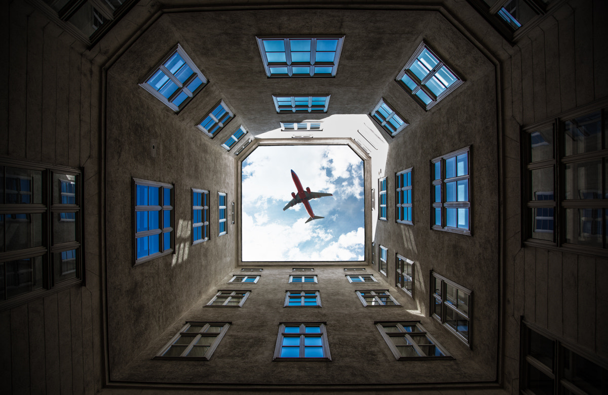 Photograph street plane by Bernhard Photography  on 500px