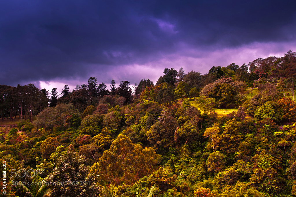 Photograph Mountain Puncak by Naja Helal on 500px