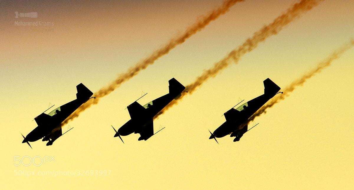 Photograph  Royal Jordanian Falcons .. by MOHAMMED KHAMIS on 500px