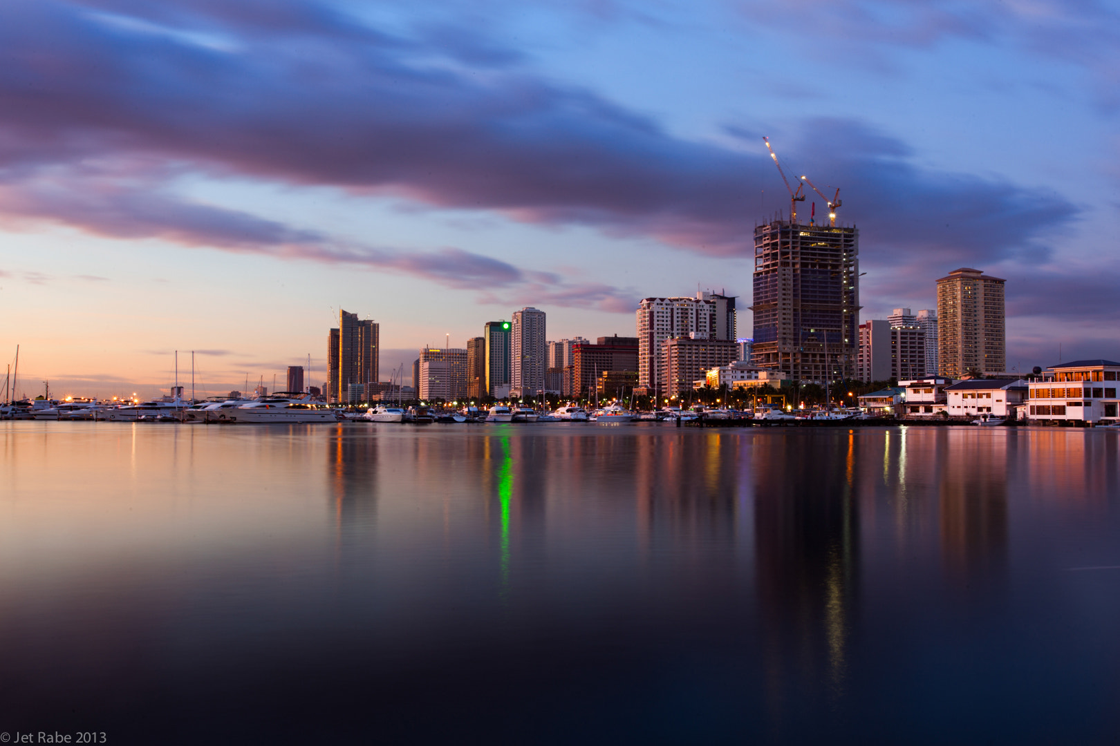 Photograph Sunset at Manila Bay by Jet Rabe on 500px