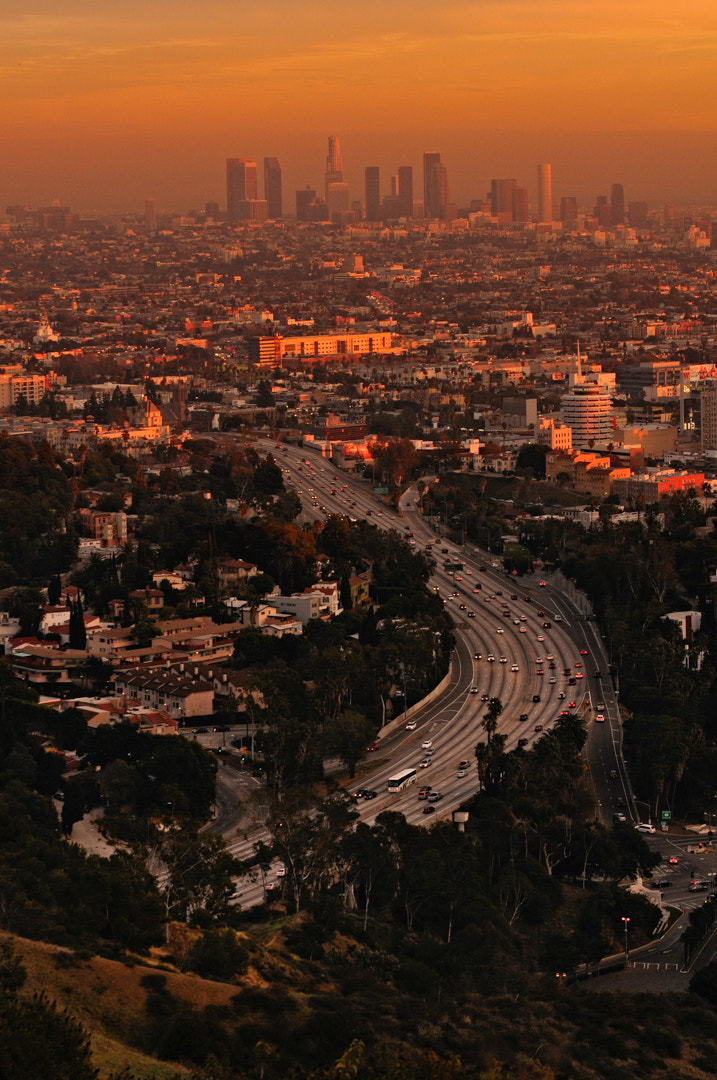 Photograph Los Angeles at dusk by Jet Rabe on 500px