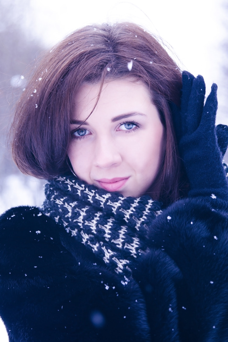 Photograph Snow Portrait. I by Margo Davidyan on 500px