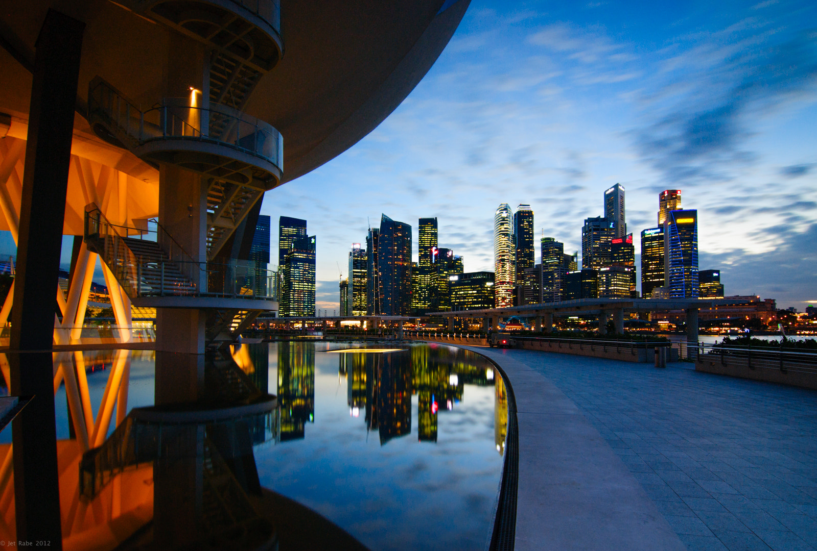 Photograph Marina Bay  by Jet Rabe on 500px