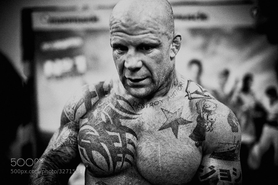 Photograph Jeff Monson by Vera Golosova on 500px