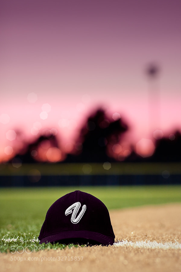 Photograph Girls Softball Baseball Cap Lost On The Way To Homeplate by Susan McKenzie on 500px