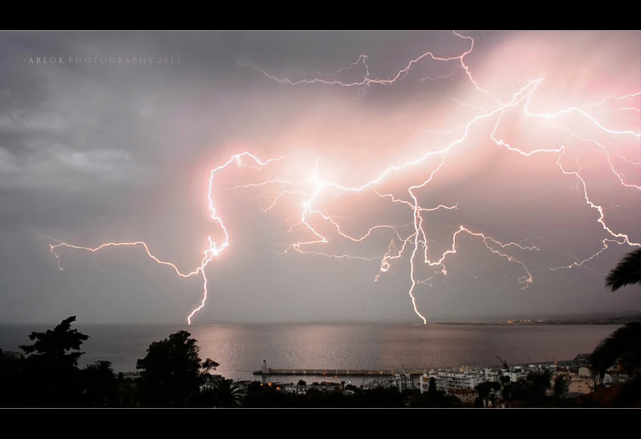 Photograph * Yesterday, I had a beautiful storm.. :) * by clement jousse on 500px