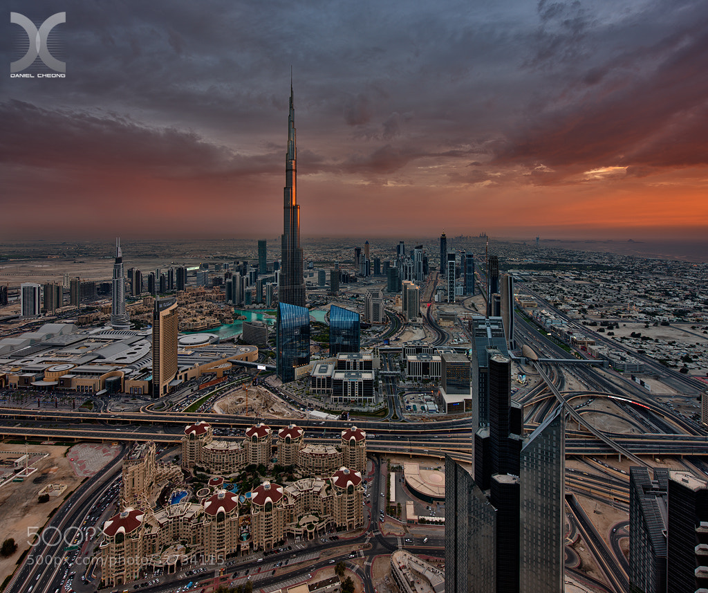 Photograph Dubai Dusk by Daniel Cheong on 500px