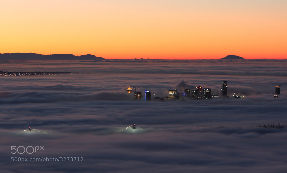 Photograph Vancouver in the Fog @ Sunrise by Steve Leach on 500px