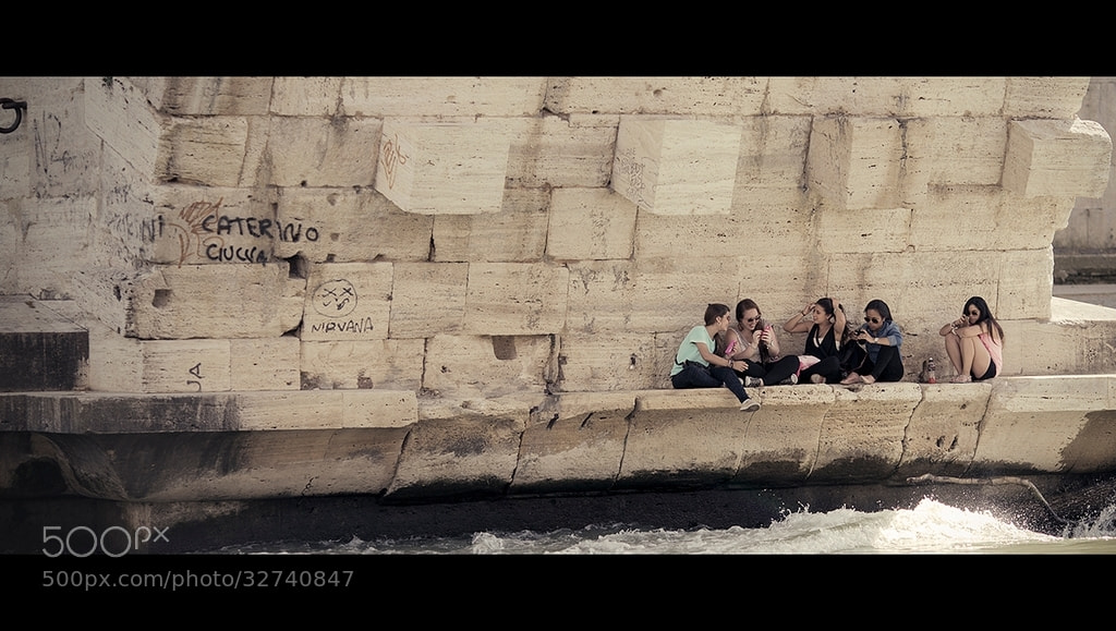 Photograph Under the bridges of Rome by laura  malucchi on 500px