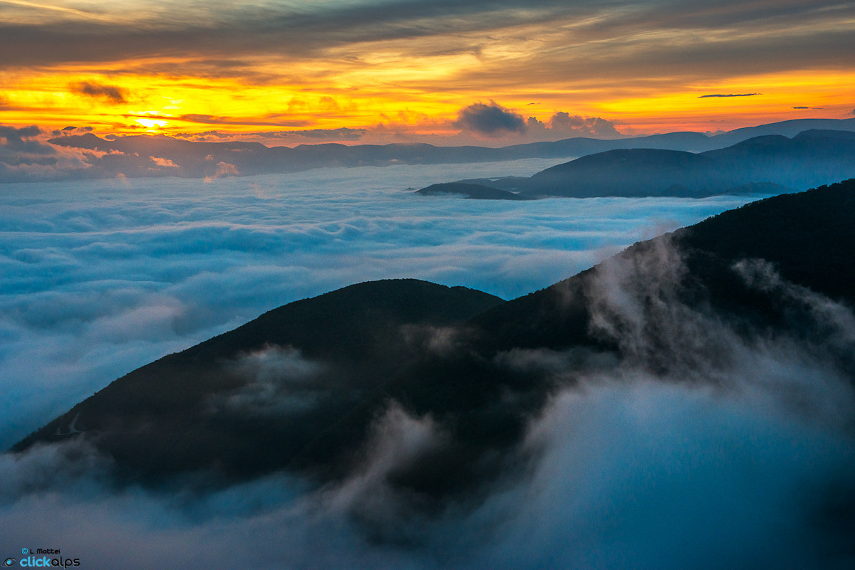 Photograph Above the clouds by Lorenzo Mattei on 500px