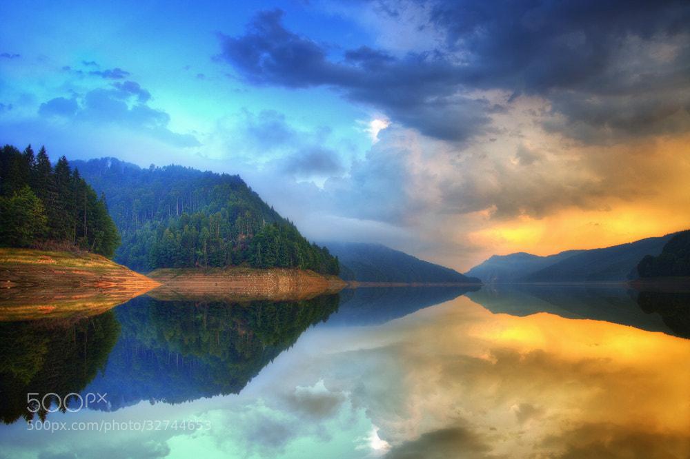 "Photograph ""Vidrau Lake"" by Osher Partovi on 500px"
