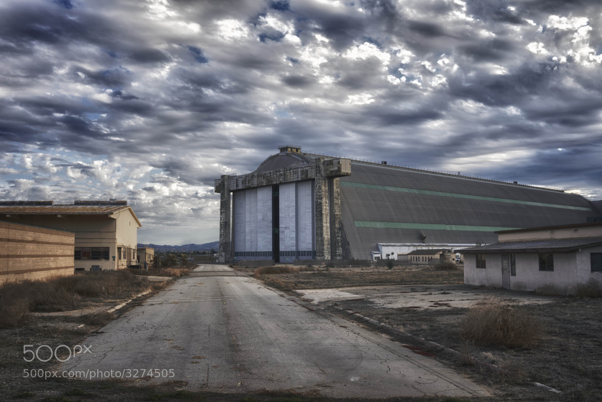 Photograph Road to the Hangars by Tom Walker on 500px