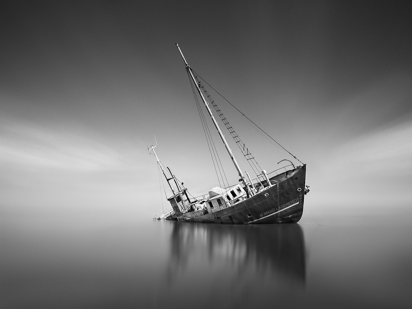 Photograph Shipwreck by Mikko Lagerstedt on 500px