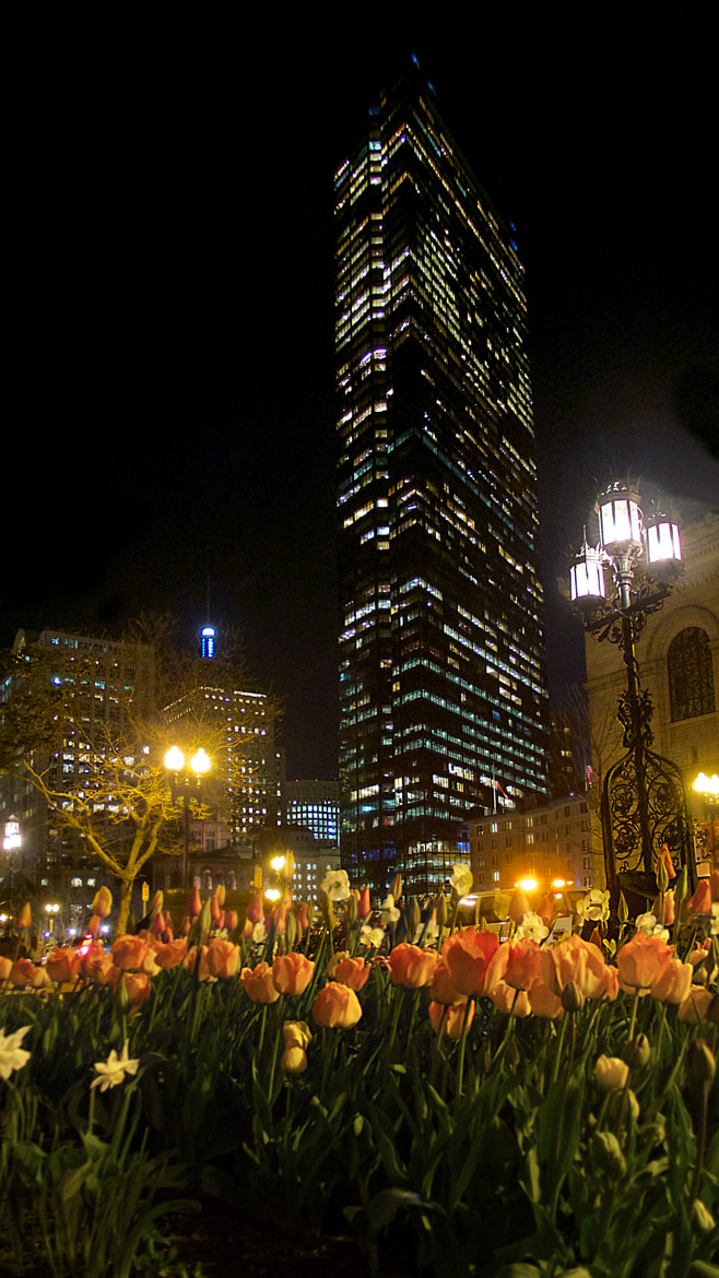 Photograph Boston—Spring night @ Copley Square by Francisco Marty on 500px