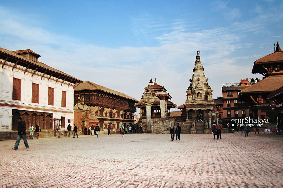 Bhaktapur Durbar Square by Manish Shakya (MrShakya)) on 500px.com