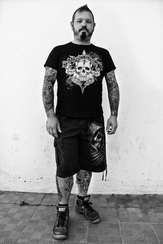 Photograph Tattooed Guy by mario pignotti on 500px