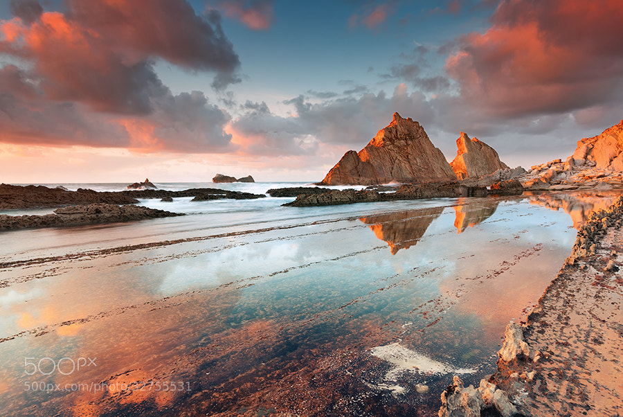 Photograph Playa de Arnia @ Liencres - Cantabria (Spain) by Eric Rousset on 500px