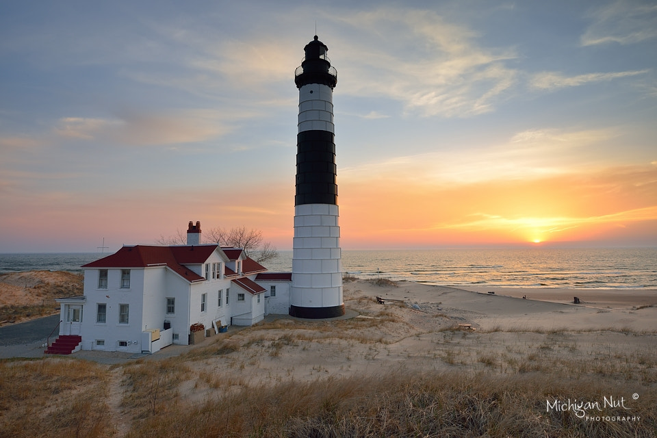 Photograph Big Sable Point Lighthouse Sunset by John McCormick on 500px