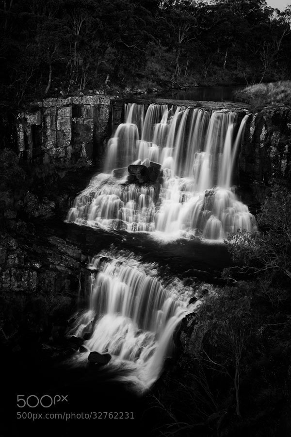 Photograph Twin Falls II by Bernard West on 500px