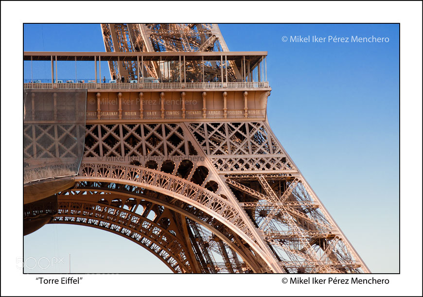 "Photograph ""Eiffel II"" by Mikel Menchero on 500px"