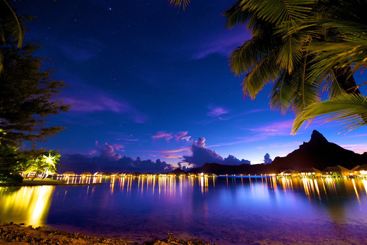 Photograph Stars Over Otemanu by David Kosmos Smith on 500px