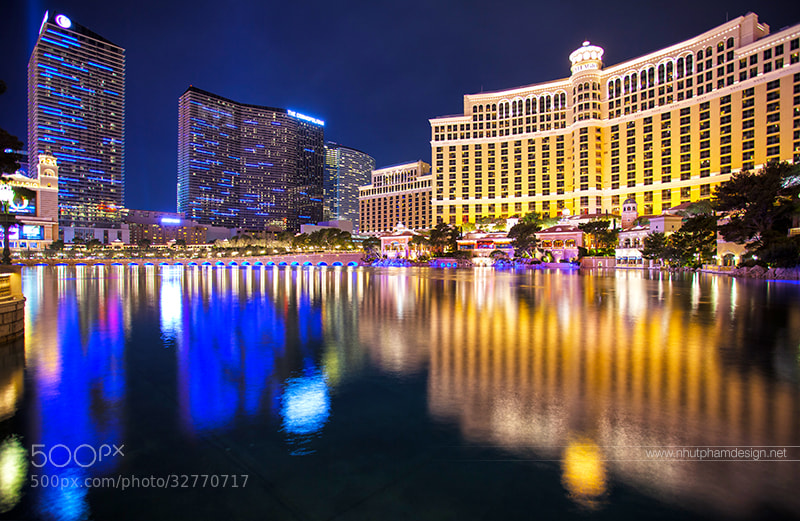 Photograph Las Vegas Light! by Nhut Pham on 500px