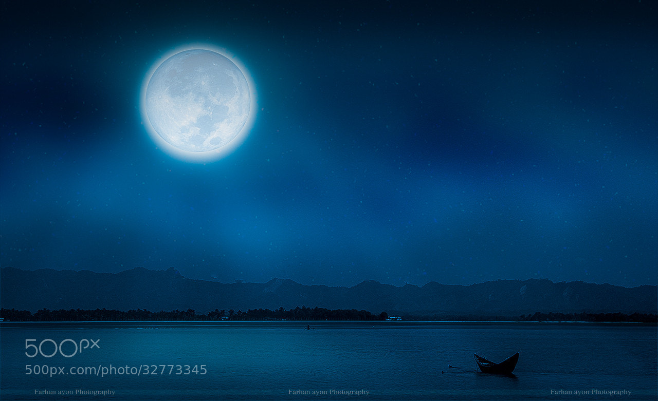 Photograph Moon in the bay of bengal by Farhan Ayon on 500px