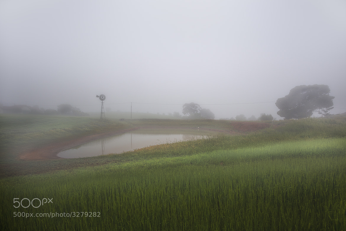 Photograph Misty farm by Kounelli  on 500px