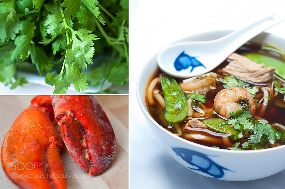 Photograph Spicy pork and shrimp asian soup by Samuel Joubert on 500px